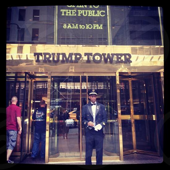 New York City street view Manhattan Trump Tower photo