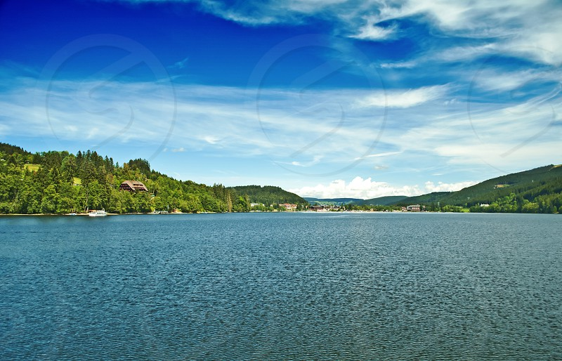 Lake Titisee Black Forest Germany photo
