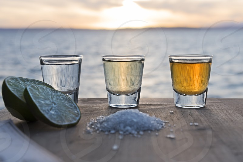 Alcohol in various forms of consumption photo