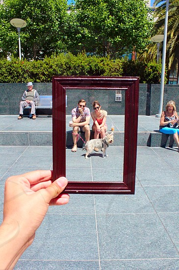 """I call this project """"Frame It"""" - San Francisco   photo"""