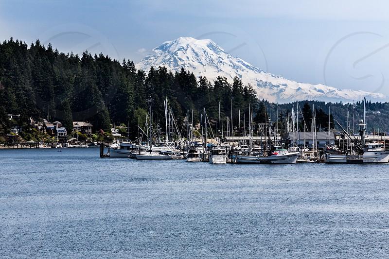 Mt. Raneer at Gig Harbor Washington State. 2014 photo