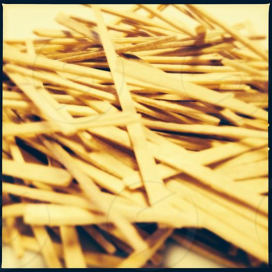 Toothpicks - close up photo