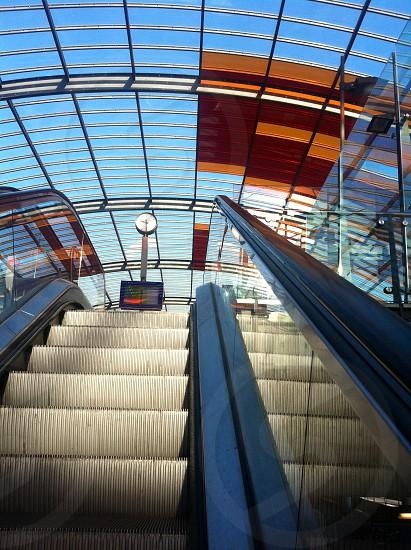 Upstair to the train station Amsterdam Netherland photo