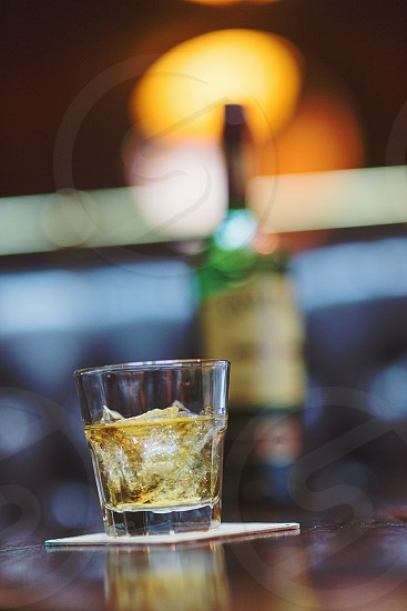a glass of jameson 12 at O'Sheas downtown Louisville cool tones photo