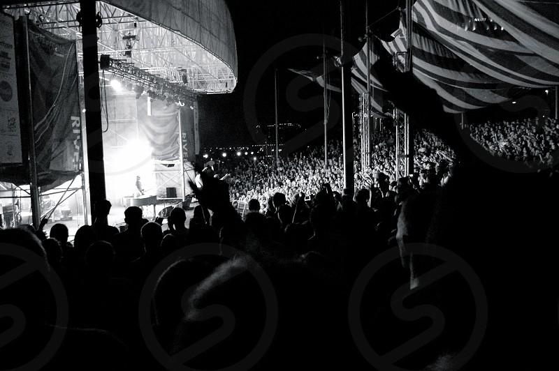 Outdoor music venue in Philadelphia photo