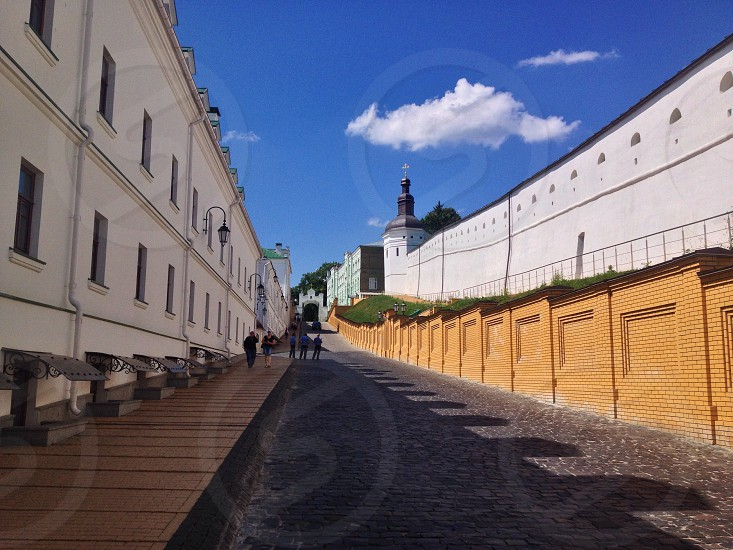 Kiev Pechersk Lavra street photo