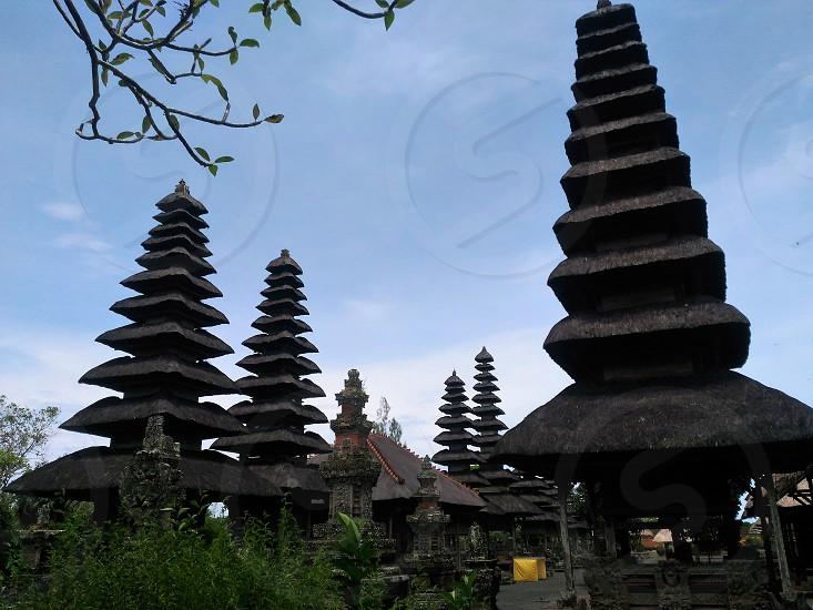 temple in bali photo