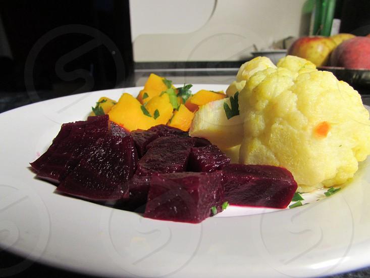 Vegetables dinner photo