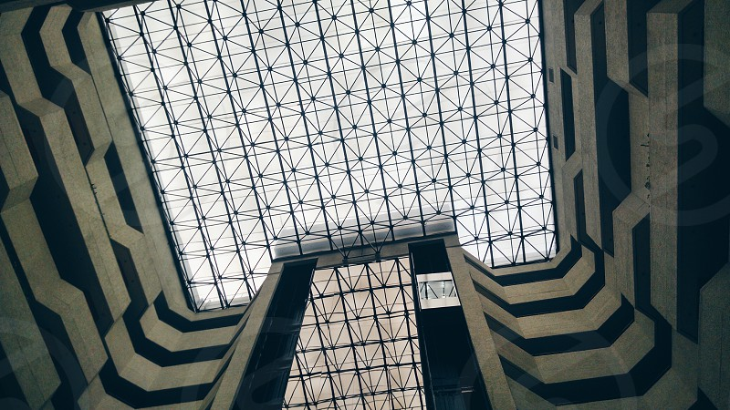 gray building interior photo