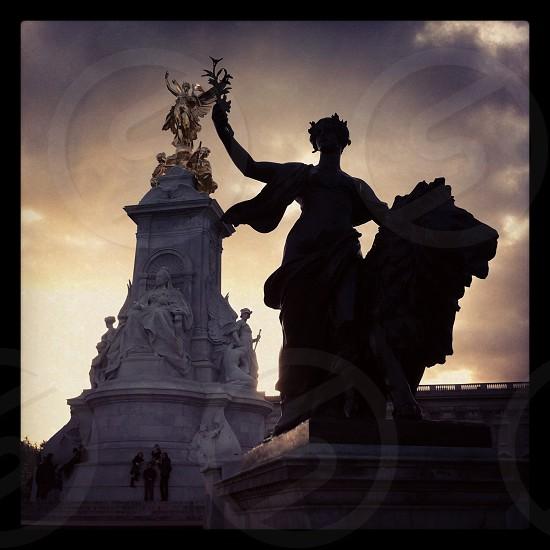 Shadow Buckingham palace london photo