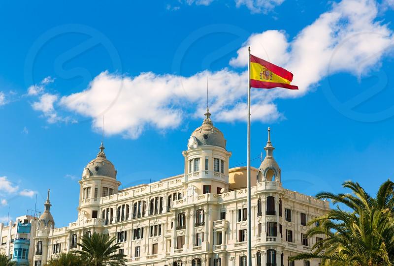Alicante Explanada de Espana casa Carbonell buiding in Spain photo