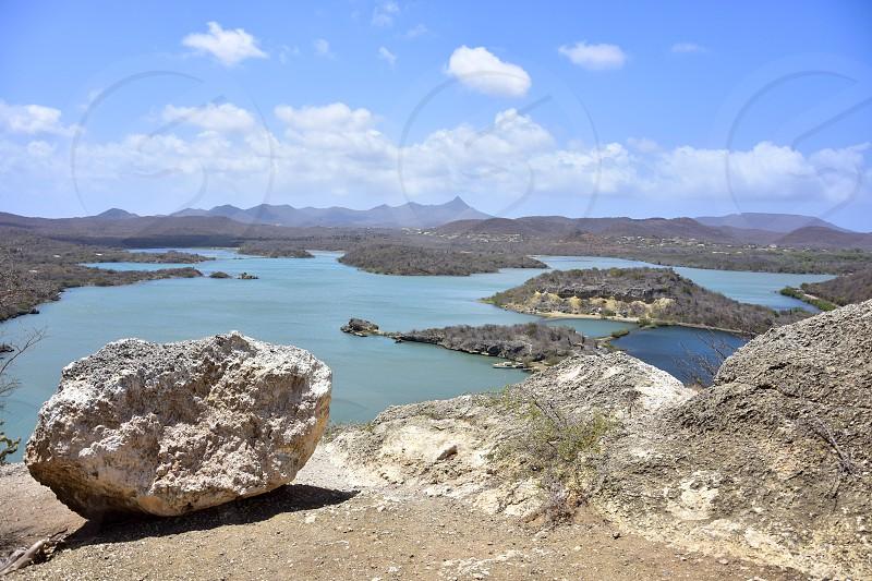 Landscape Curacao photo