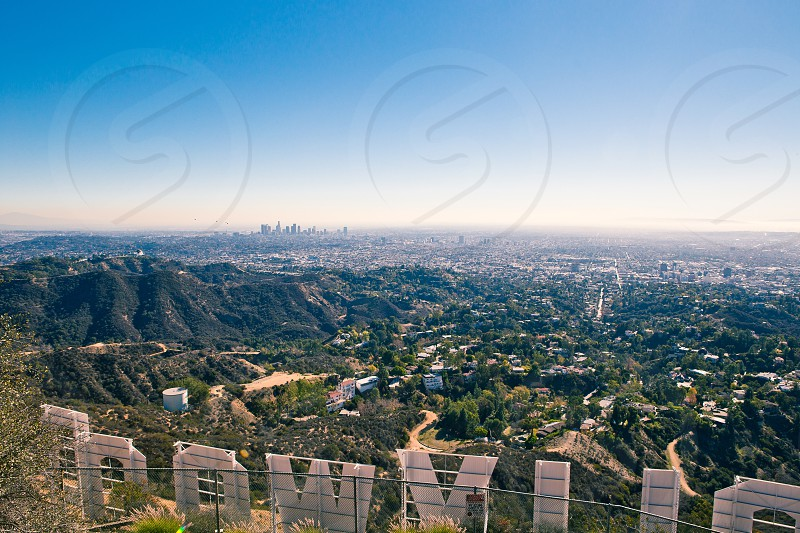 Behind the Hollywood Sign photo