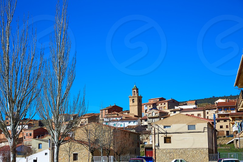 Royuela village Sierra de Albarracin in Teruel Spain photo
