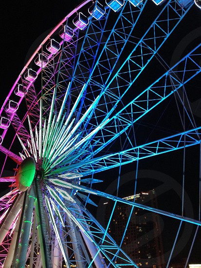 ferris wheel photography photo
