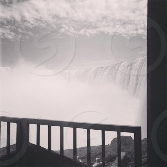 #water #fall #waterfall #canada #usa #niagra #big #power #view photo