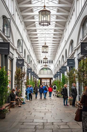 London UK. 02-05-2019. Covent Garden Market.Tourist landmark in centre of London. photo