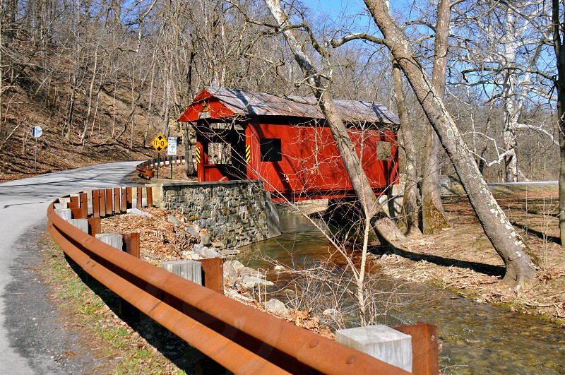 Ebenezer Covered Bridge  photo