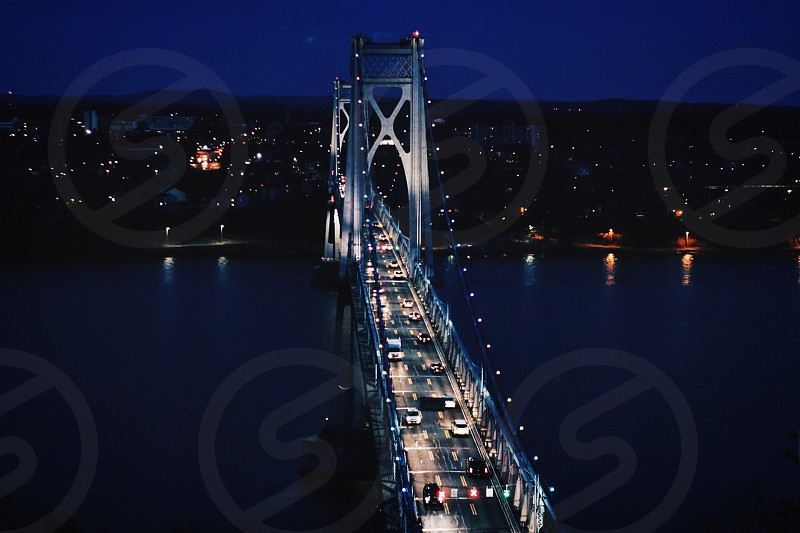 Architecture bridge infrastructure New York Hudson valley mid Hudson bridge photo