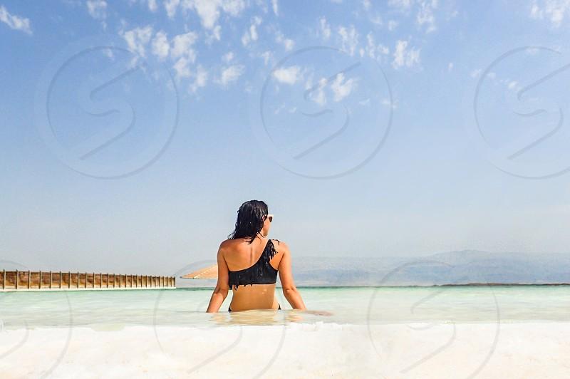 Dead Sea Israel water salt sea photo