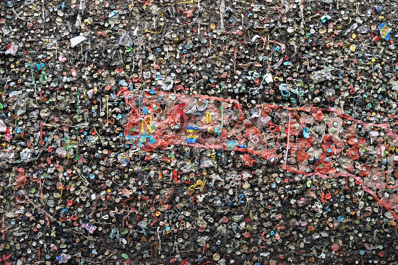 Bubblegum Alley San Luis Obispo California photo