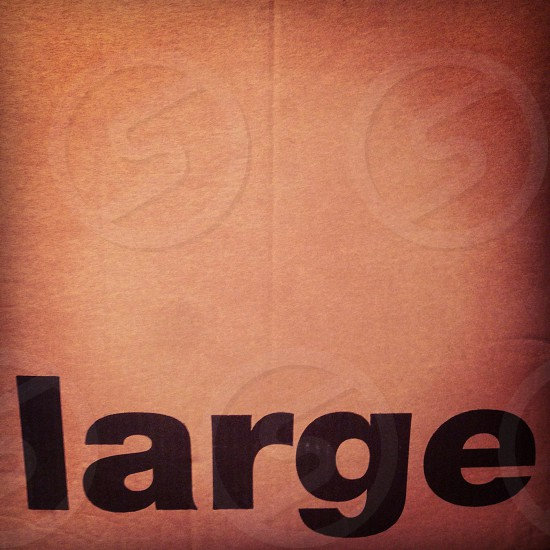 Large brown box photo
