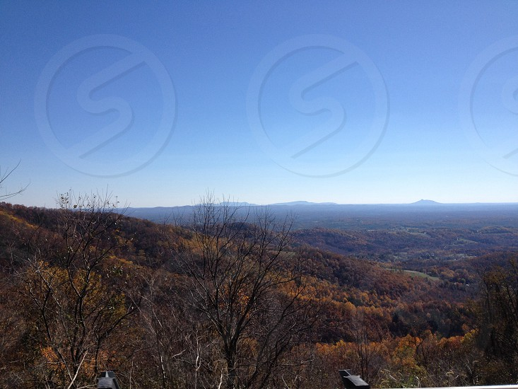 Blue ridge mountains photo