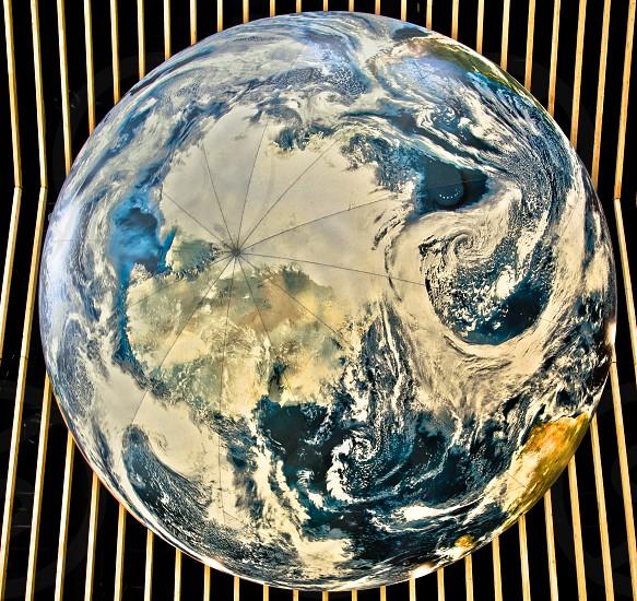 The globe photo