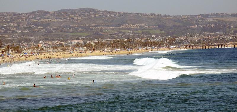 Hillside Behind Newport Beach photo
