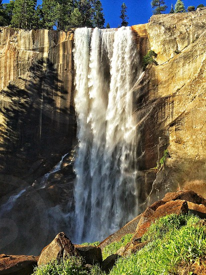 Vernal Falls photo