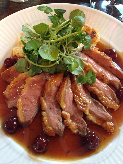 Duck canard food travel meat delicious  photo