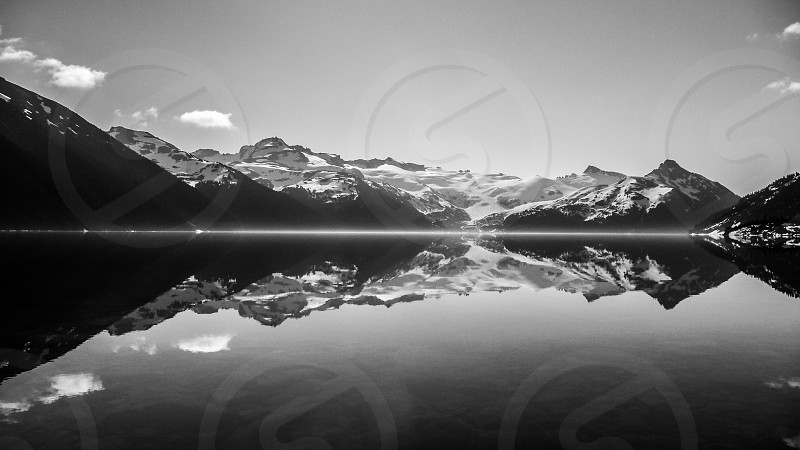 Heaven Rockies Lake Garibaldi Reflections  photo