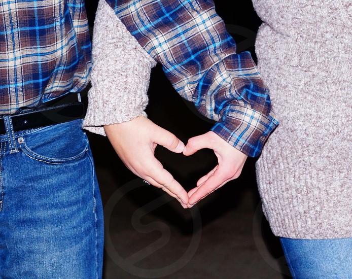 Hands• heart• love• symbol  photo