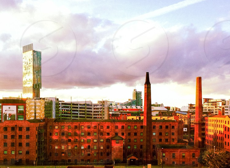 Manchester from my window.  photo
