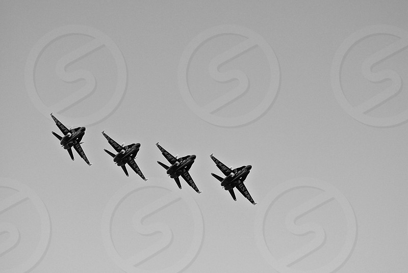 4 military airplane photo