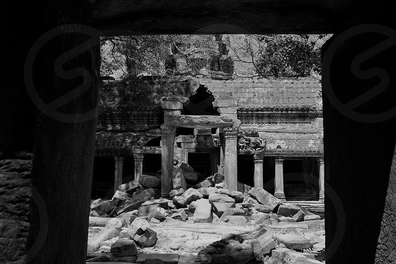 The temples of Cambodia photo