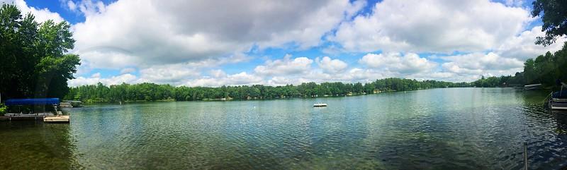 beautiful lake of Wisconsin photo
