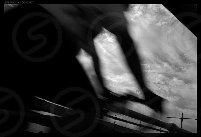 bike blur photo