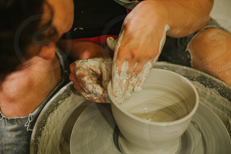 ceramic workshop lifestyle- education photo