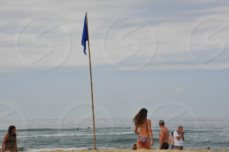 Beach france ocean view photo