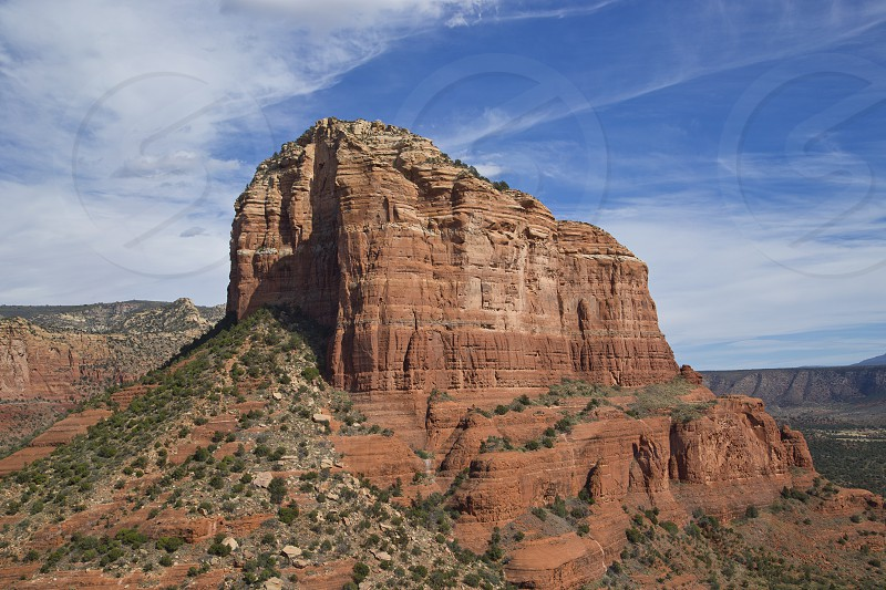 courthouse butte sedona red rock hiking arizona photo