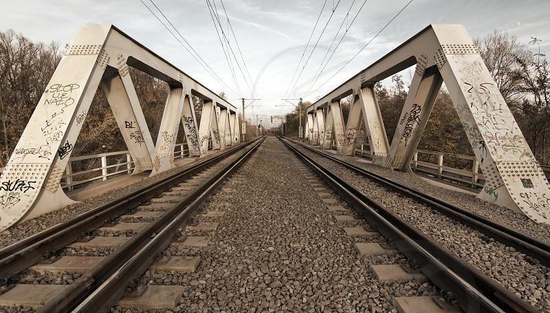 Bucharest Băneasa railway bridge photo