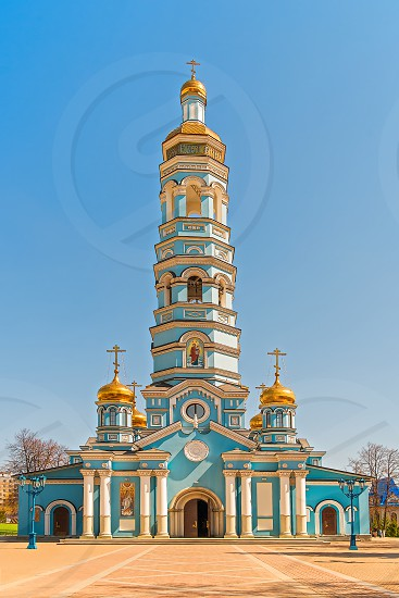 Cathedral of the Nativity of the Theotokos. Ufa. Bashkortostan. Russia photo