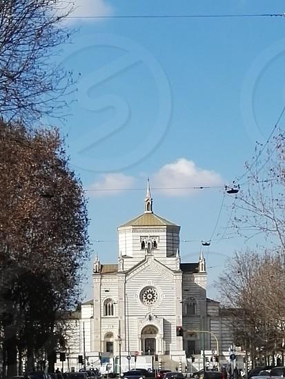 white concrete church at daytime photo