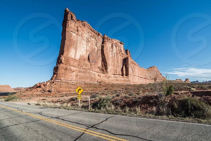 Moab Arches national park. photo
