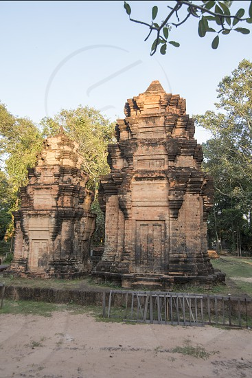the Wat An kau sey Temple in the city of Siem Reap in northwest of Cambodia.   Siem Reap Cambodia November 2018 photo