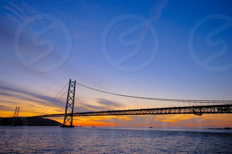 アジュール舞子からの明石海峡大橋 photo