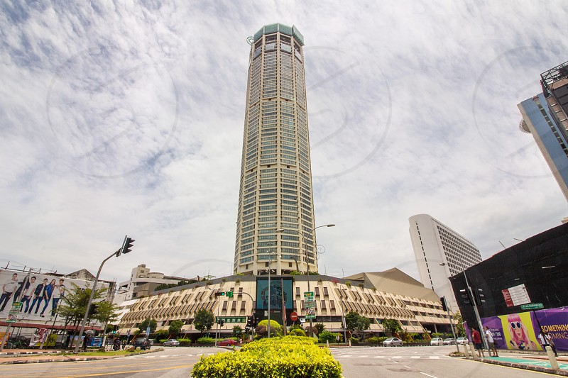Komtar is the highest building in Georgetown Penang Malaysia photo