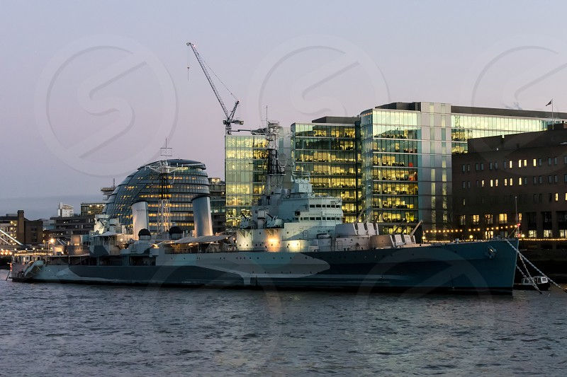 HMS Belfast in London photo