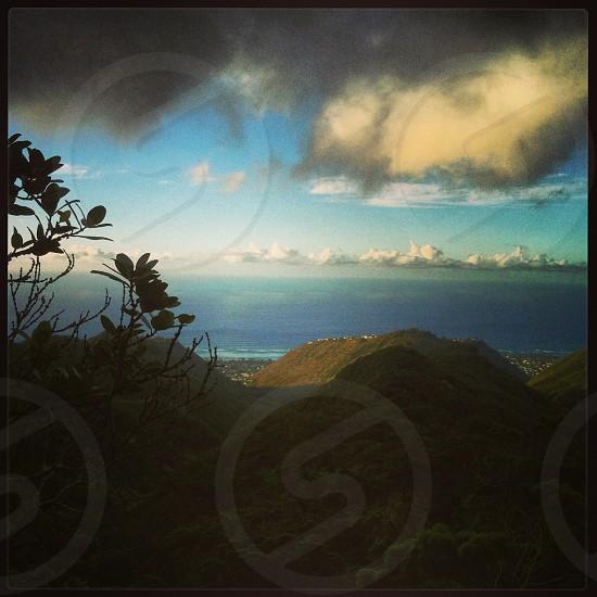mountains; hiking; hike; view photo